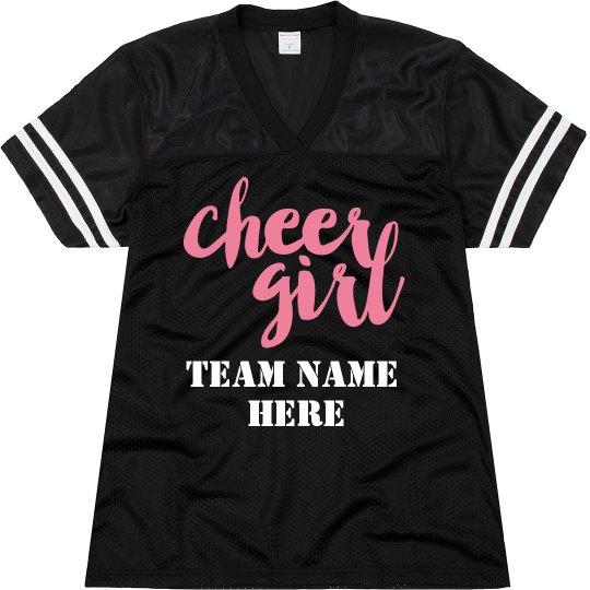 Cheer Girl Jersey