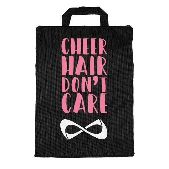 Cheer Hair Don't Care Custom Name