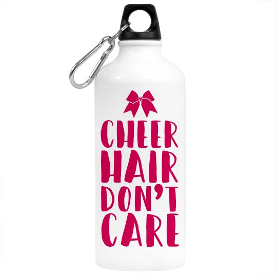 Cheer Hair Don't Care Water Bottle