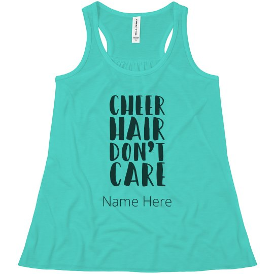 Cheer Hair Don't Care