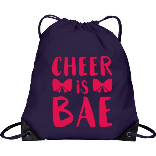 Cheer Is Bae Cute Bag