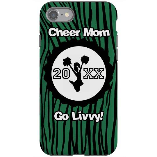 Cheer Mom School Colors