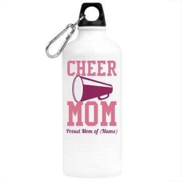Cheer Mom Water Bottle