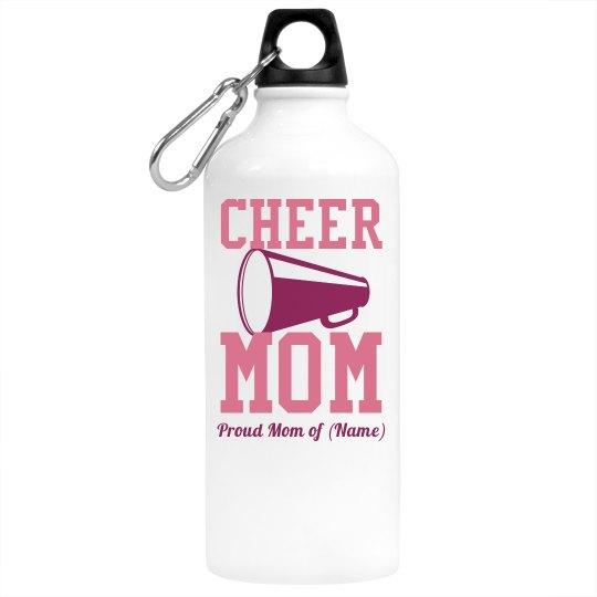 Cheer Mom Water Bottle