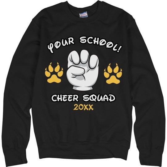 Cheer Paw Print