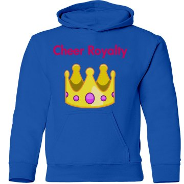 Cheer royalty sweatshirt