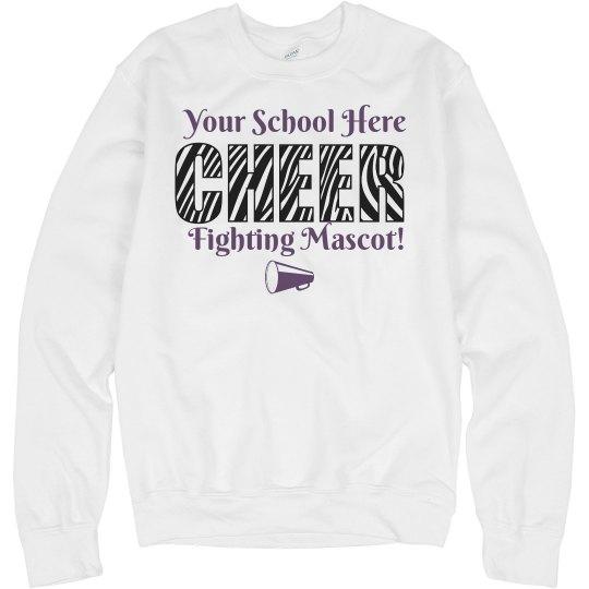 Cheer Sweatshirt Template