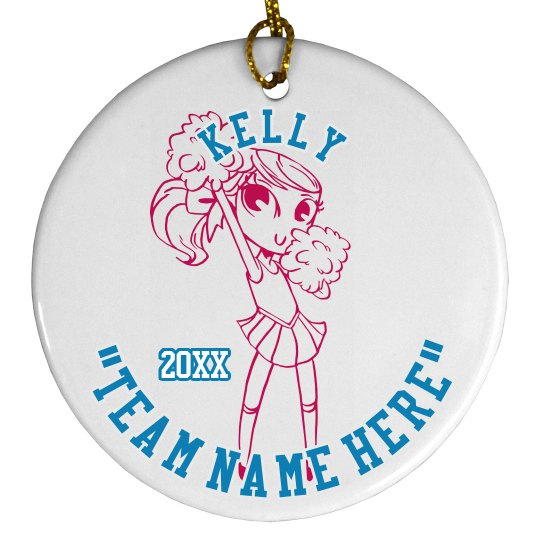Cheer Team Ornament