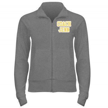 Cheer track jacket