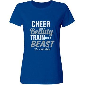 Cheer Train Like a Beast