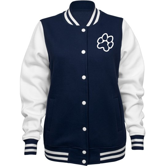 Cheer warm-up jacket