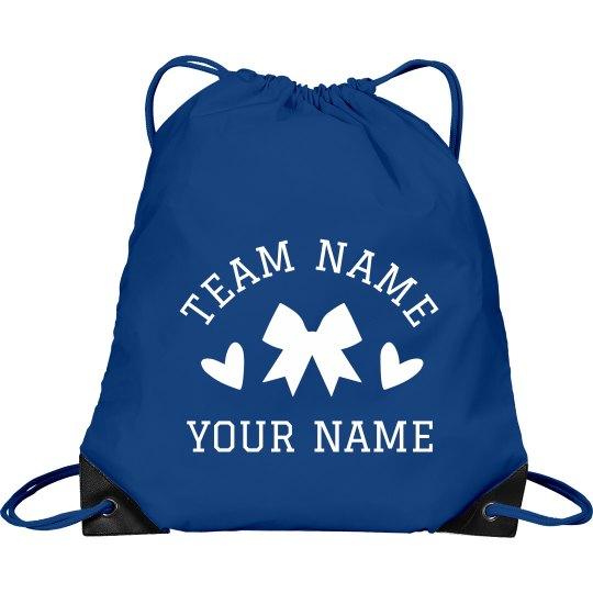 Cheerleader Custom Team & Name