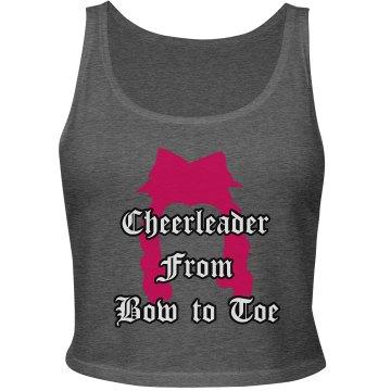 Cheerleader fom Bow to Toe!