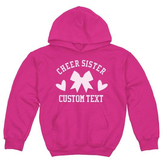 Cheerleader Little Sister Custom