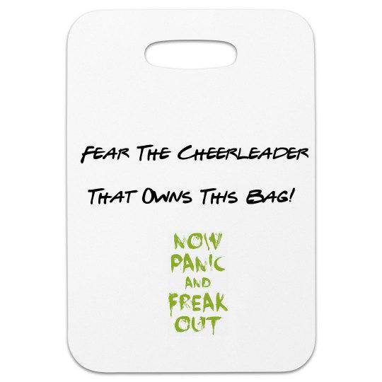 Cheerleader Luggage Tag