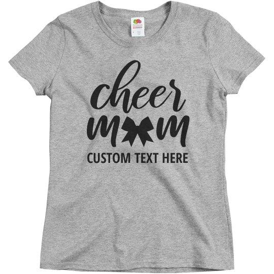Cheerleader Mom Script Custom Text