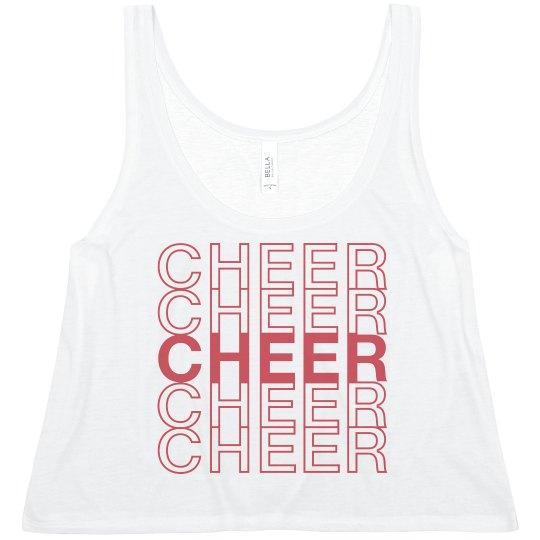 Cheerleader Thank You Crop