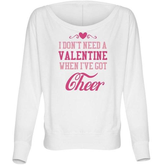 Cheerleader Valentines
