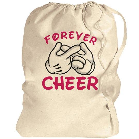 Cheerleader's Forever Cheer Laundry Bag