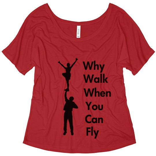 Cheerleading Flyer Shirt