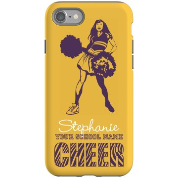Cheerleading iPhone Case