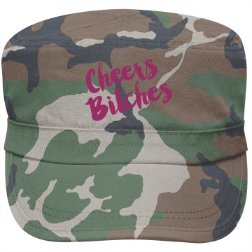 Cheers Camo Military Style Hat