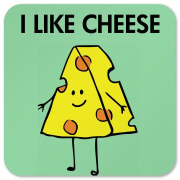 Cheese Lover Coaster