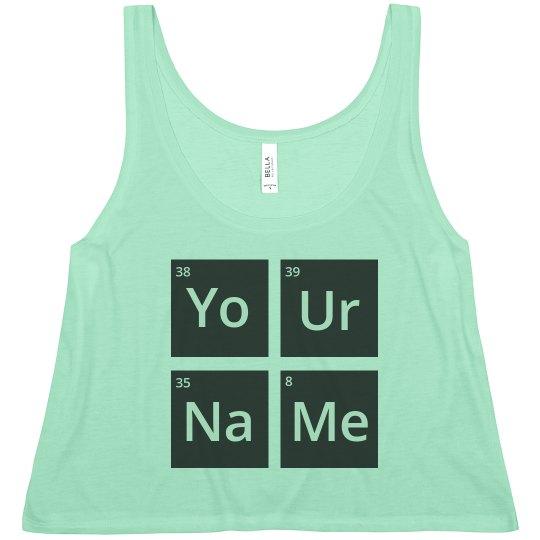 Chemistry Custom Name