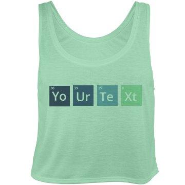 Chemistry Custom Text