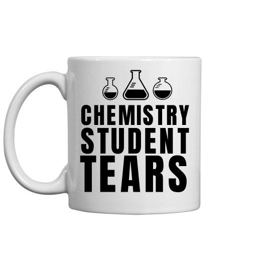 Chemistry Student Tears Funny Teacher Gift