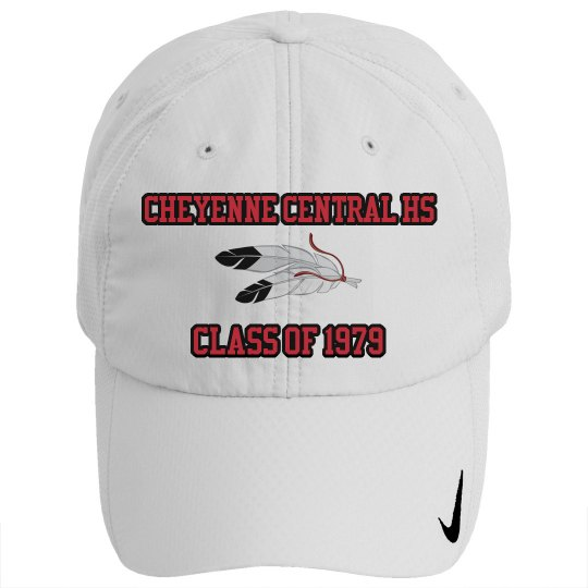 Cheyenne Central HS Class of 1979 Nike Hat
