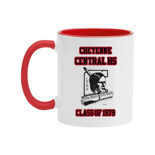 Cheyenne Central HS Reunion Mug