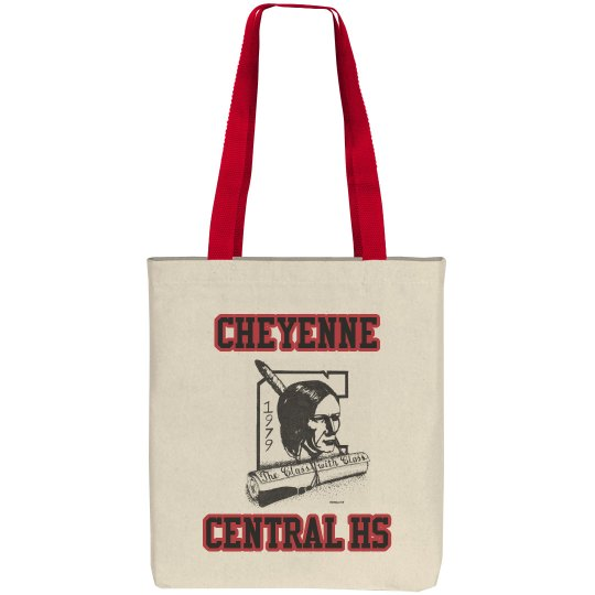 Cheyenne Central HS Reunion Tote Bag