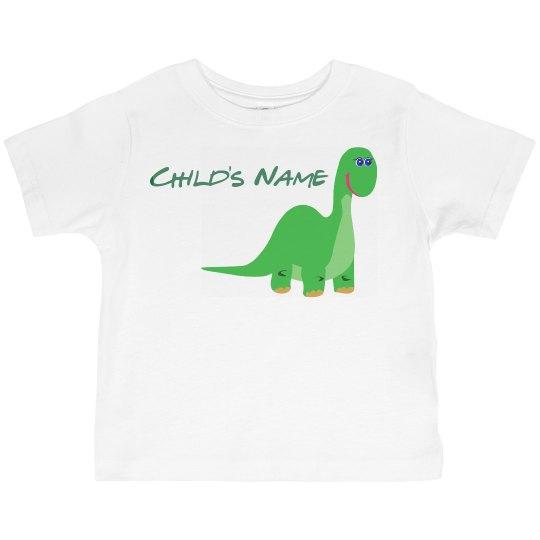 Child's Dinosaur Shirt
