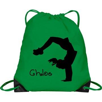 Chloe cheerleader bag