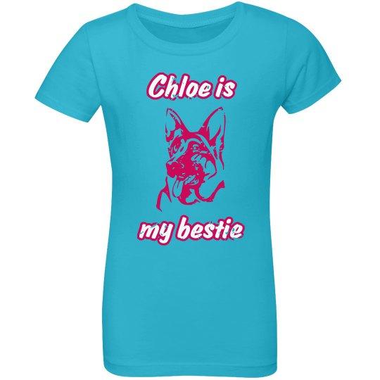 Chloe Is My Bestie - Aqua Blue
