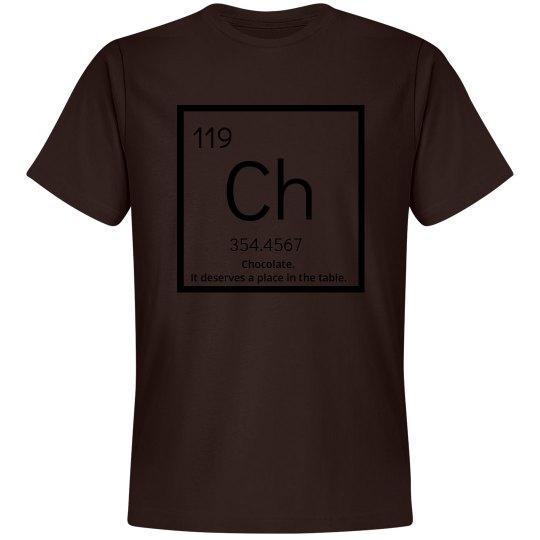 Chocolate elements-men's tee