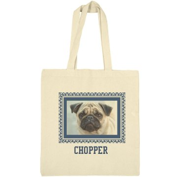 Chopper Dog Framed