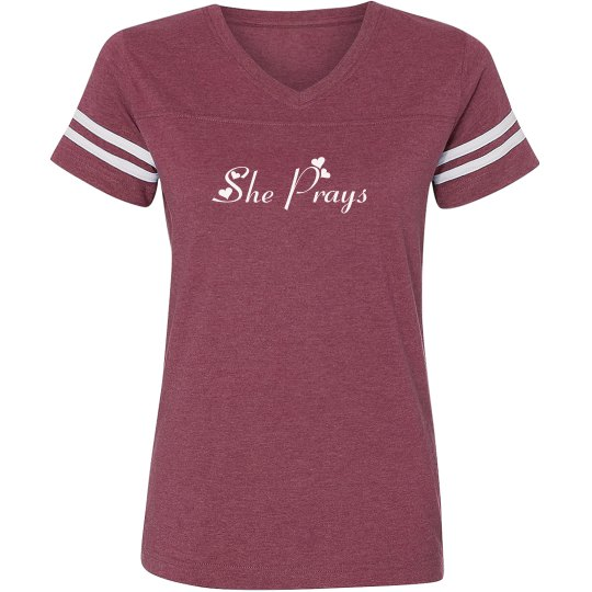 Christian She Prays