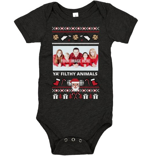 Christmas - Infant Ugly Sweater Filthy Animals