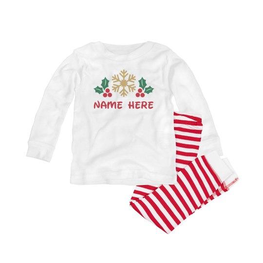 Christmas Baby Pajama Set