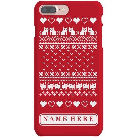 Christmas Cat Phone Case