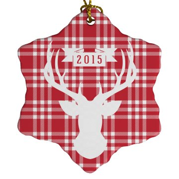 Christmas Deer Ornament