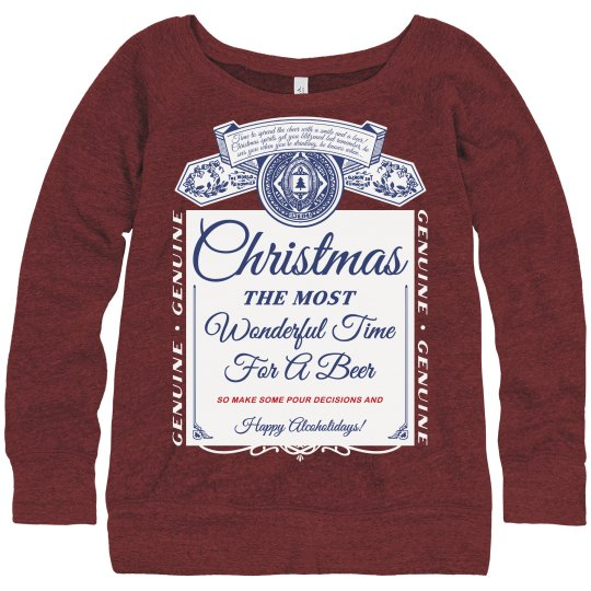 Christmas Drinking Ugly Sweaters