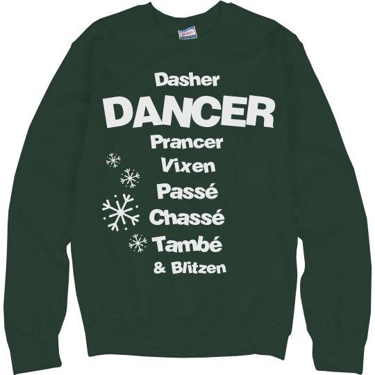 Christmas instructor Recital Sweater