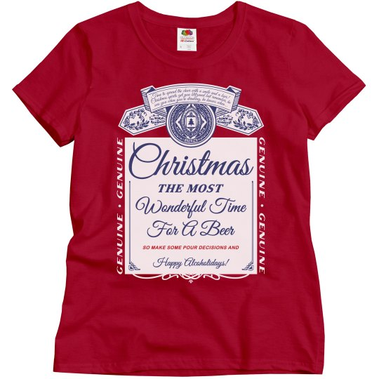 Christmas Party Drinking Shirt
