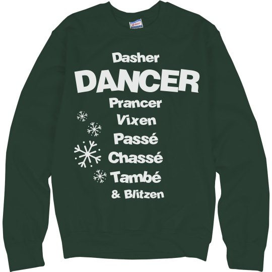 Christmas Recital Sweater
