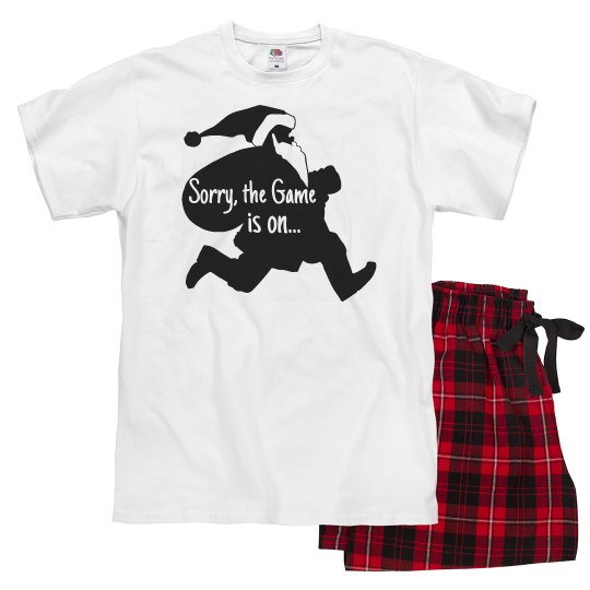 Christmas Sorry Game is On PJ Adult