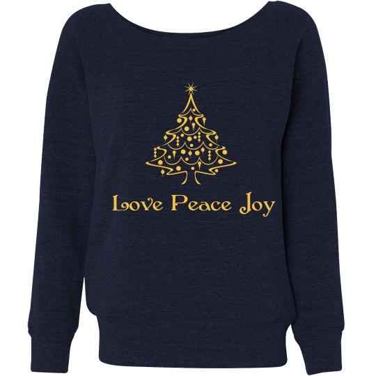 Christmas Sweatshirt Girl