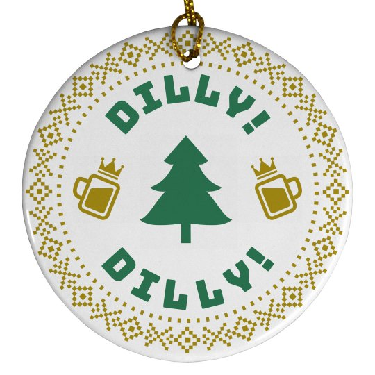 Christmas Tree Dilly Dilly Beer
